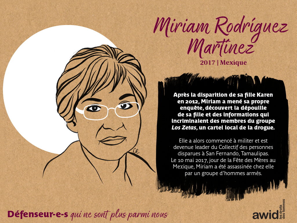 Miriam Rodríguez Martínez (FR)