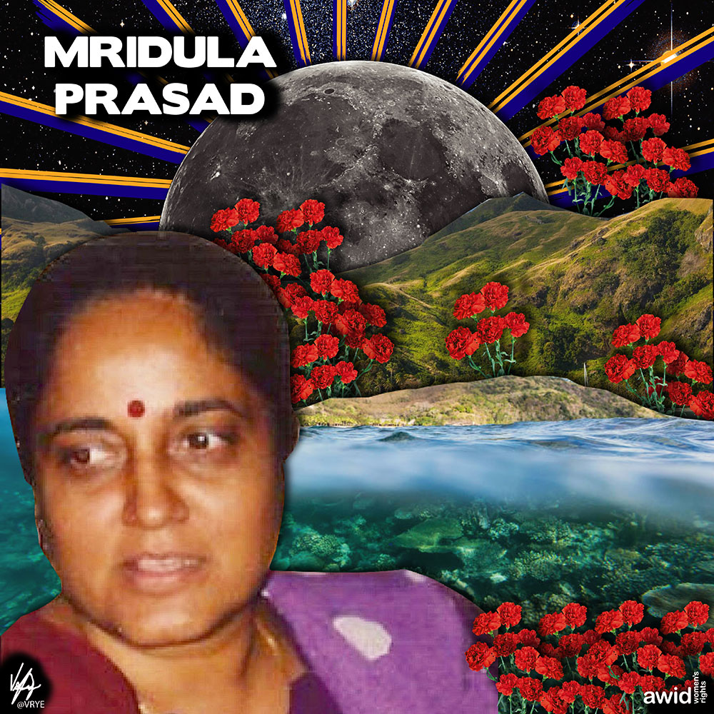 "<strong>Mridula </strong>was a strong advocate for the advancement for women's health at a time when the topic of women's sexual and reproductive health were considered taboo in Fiji.<br /><a href=""https://www.awid.org/whrd/mridula-prasad"" title=""WHRD - Mridula Prasad"">Read more &gt;</a>&nbsp;"
