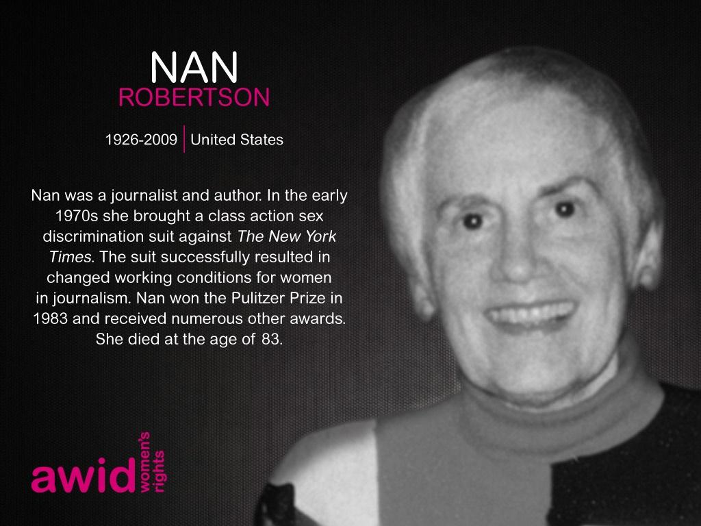 Nan Robertson ENG