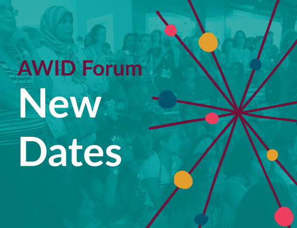 AWID Forum - New dates (610x470)