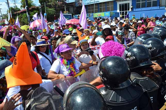 Nicaragua protest - civil unrest