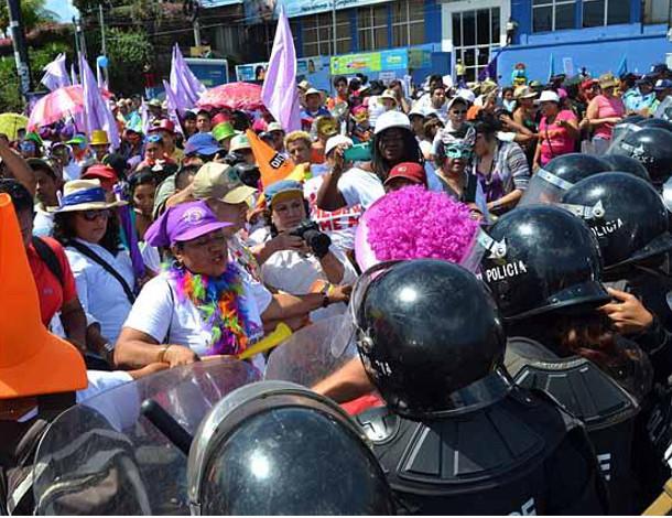 Nicaragua protest - civil unrest - tile