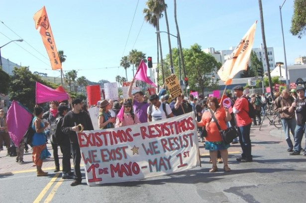 May Day rally in San Francisco (Source: NNIRR)