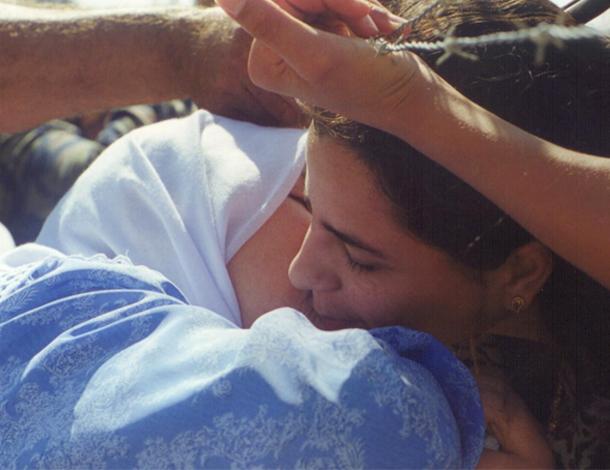 No Border on Gender Justice - 2 women hugging each other (610x470)