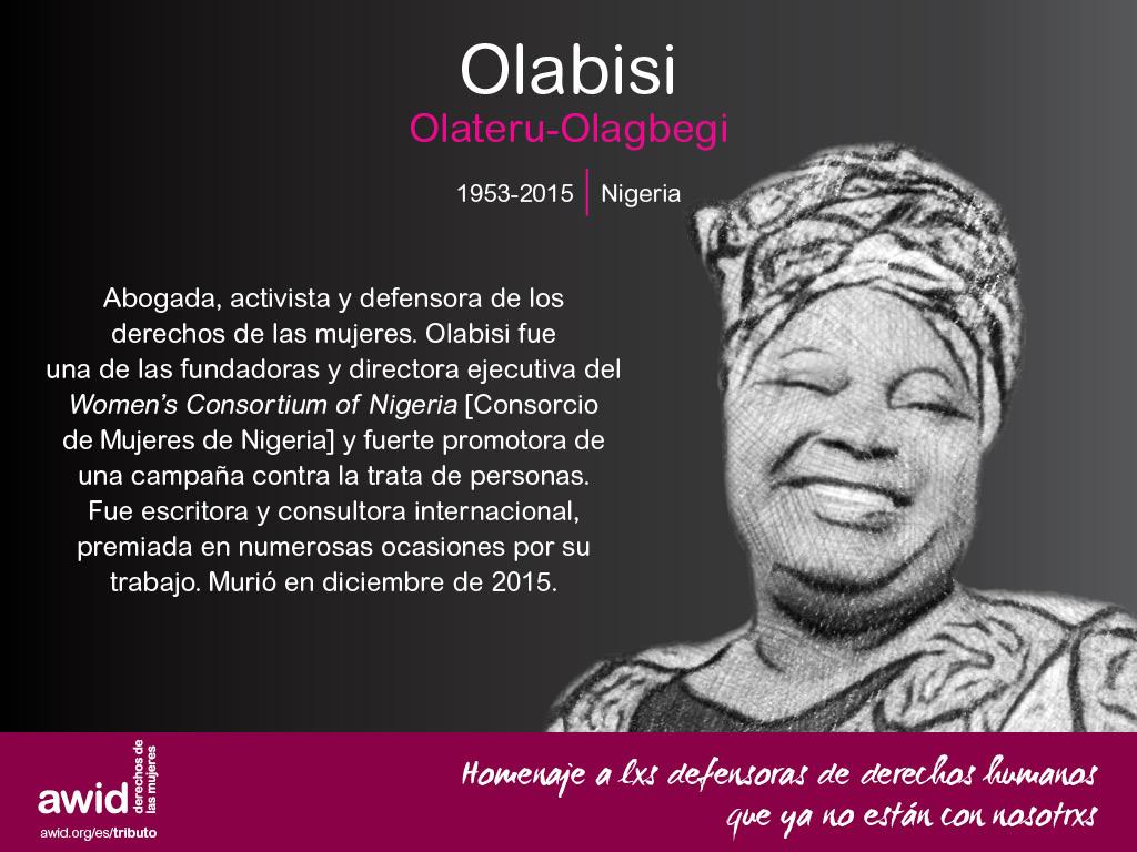 Olabisi Olateru-Olagbegi (SP)
