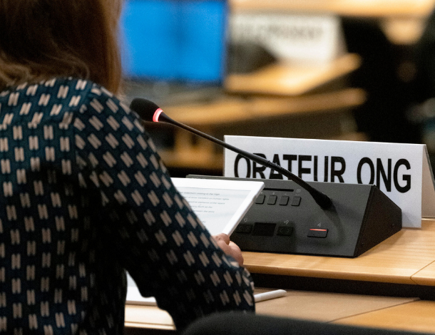 Orateur ONG at HRC45 (Flickr - UN Geneva) web tile (610x470)