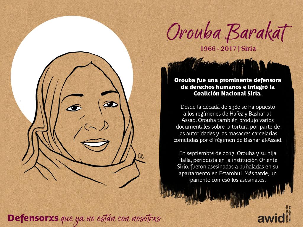 Orouba Barakat (SP)