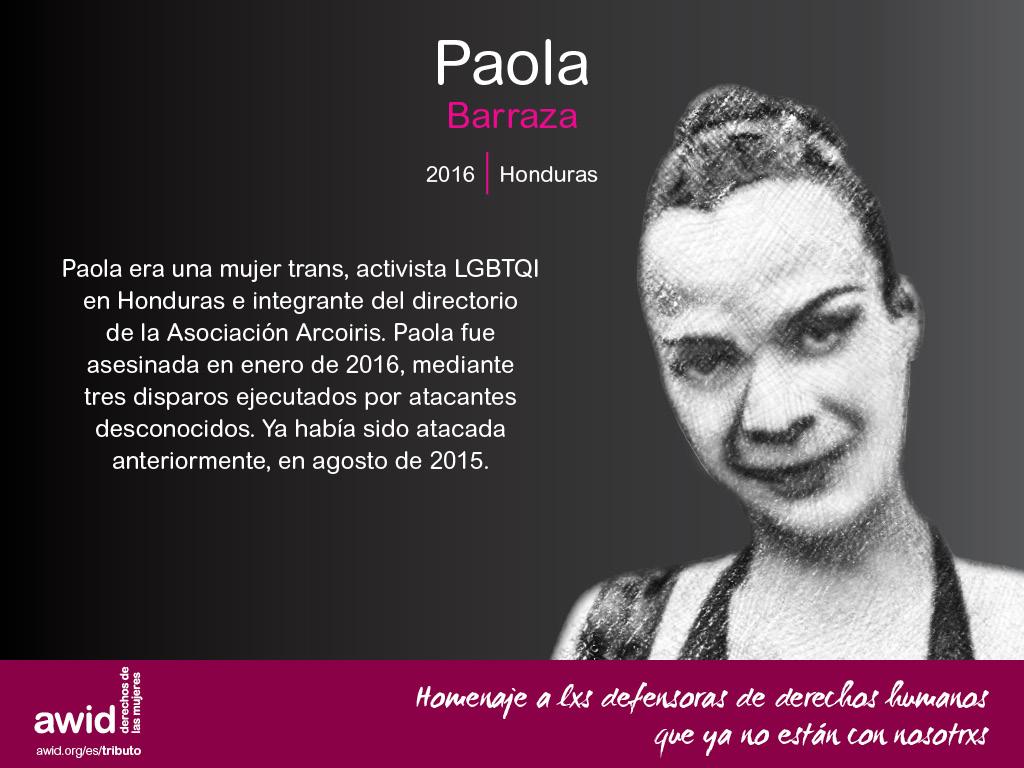 Paola Barraza (SP)