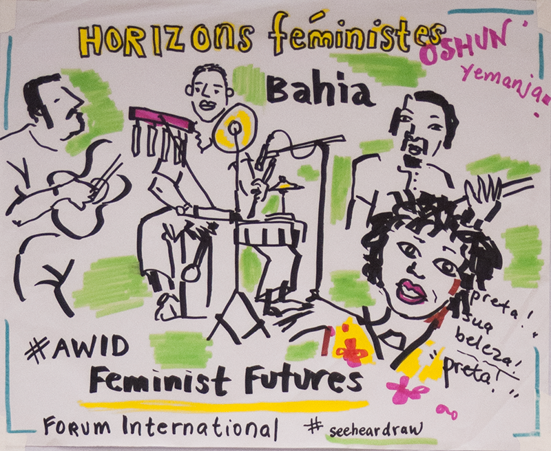 AWID Forum - Illustration: Opening plenary - Music