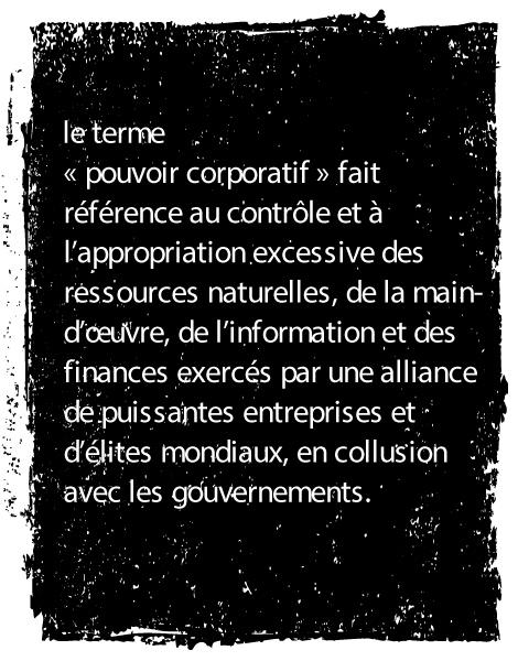 pouvoir corporatif