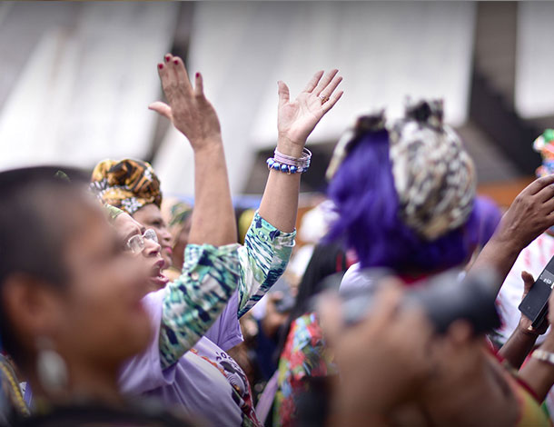 Priority Areas - Marcha da Mulheres negras - 2016 Sabriya Simons