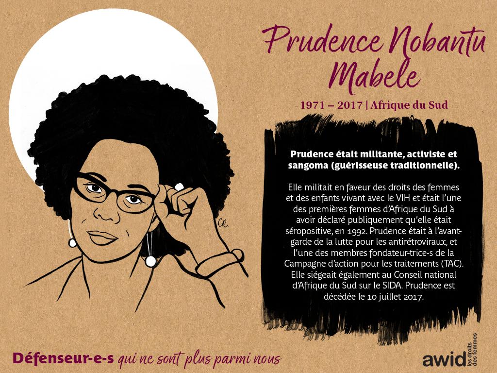 Prudence Nobantu Mabele (FR)