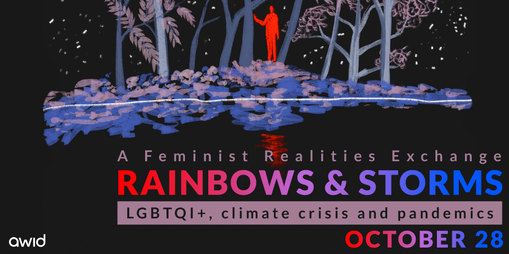 Curated conversation - Rainbows & Storms - artwork banner