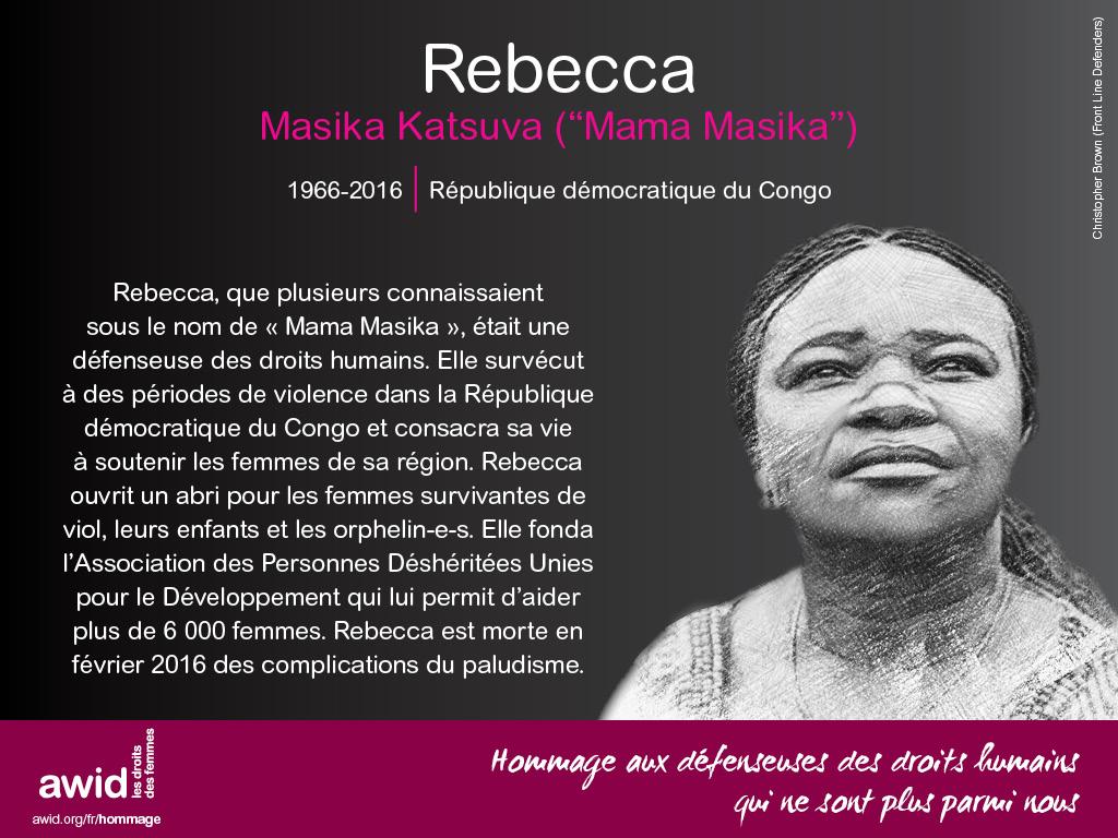 Rebecca Masika Katsuva (FR)