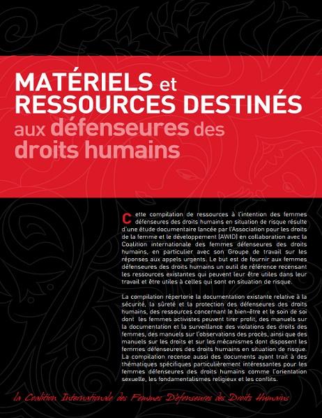 Ressources pour les défenseuses des droits humains cover