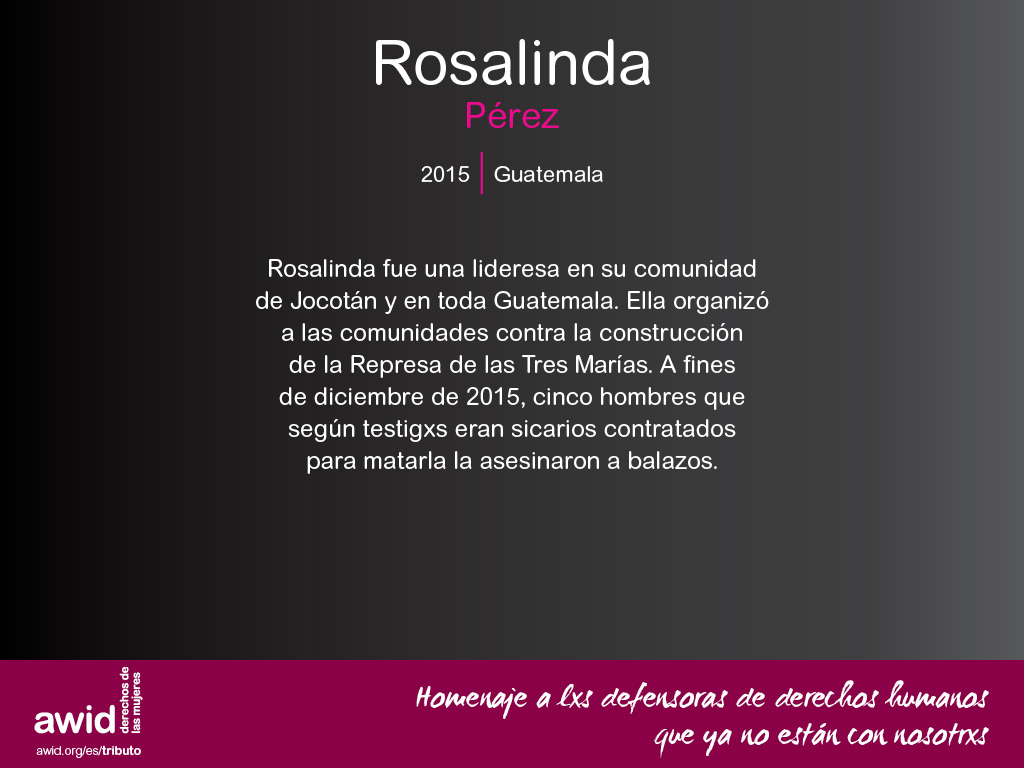 Rosalinda Pérez (SP)