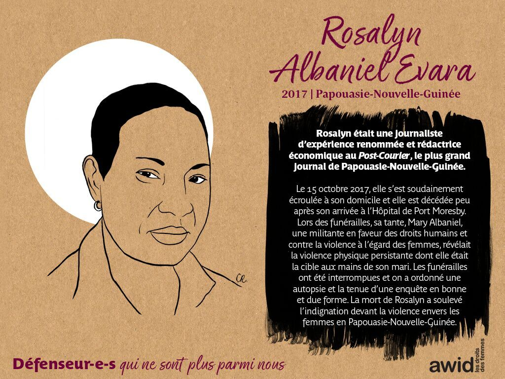 Rosaly Albaniel Evara (FR)