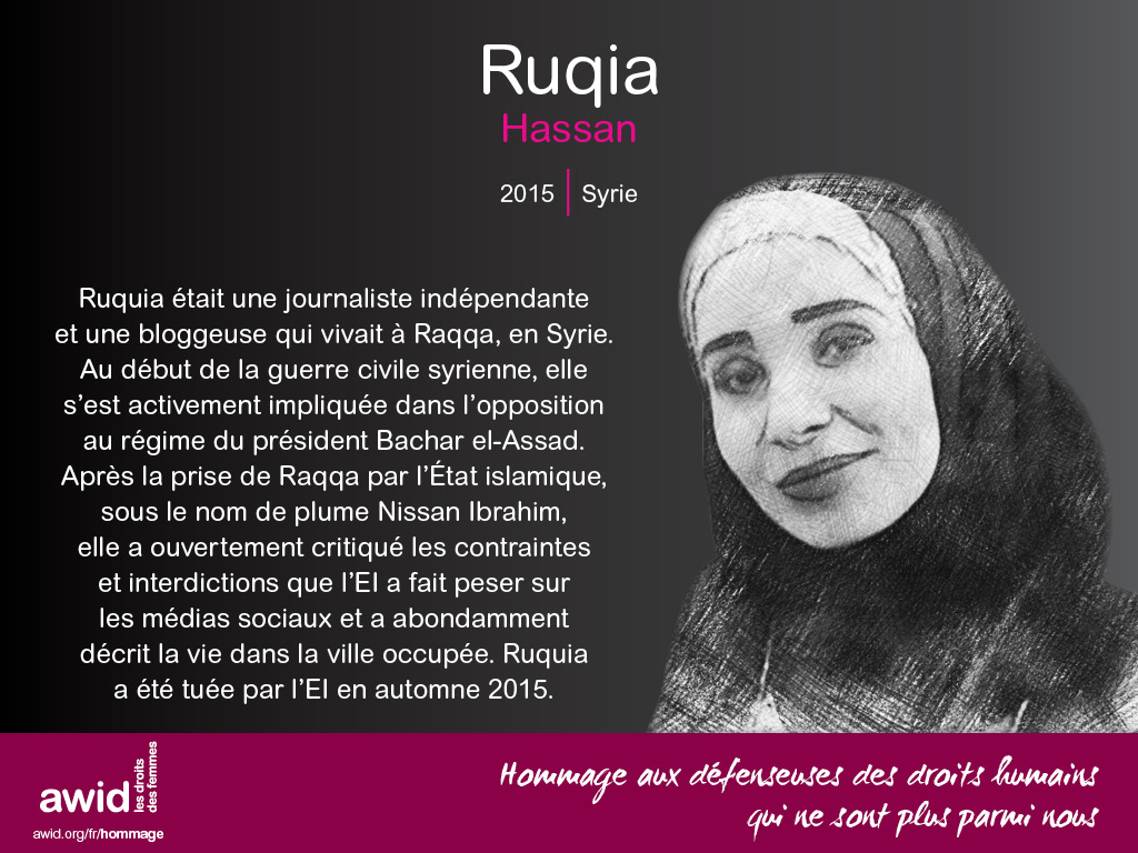 Ruqia Hassan (FR)