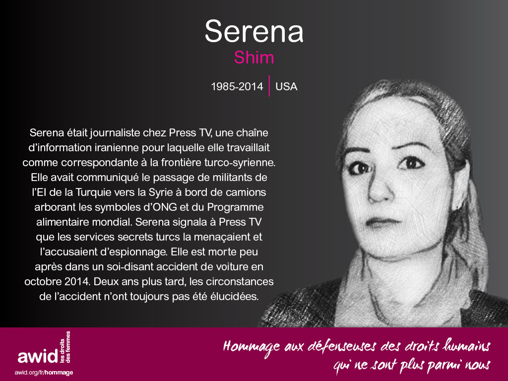 Serena Shim (FR)
