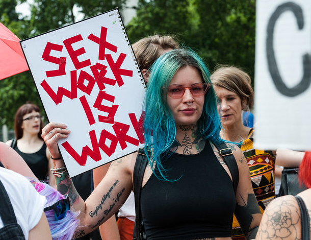 Sex Work Is Work protest (610x470)