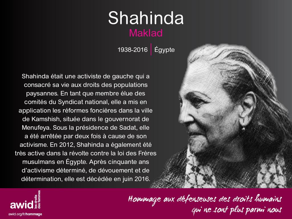 Shahinda Maklad (FR)