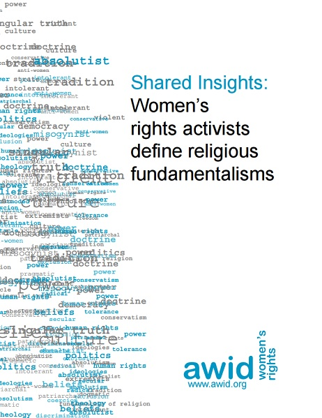 Shared insights: Women's rights activists define religious fundamentalisms