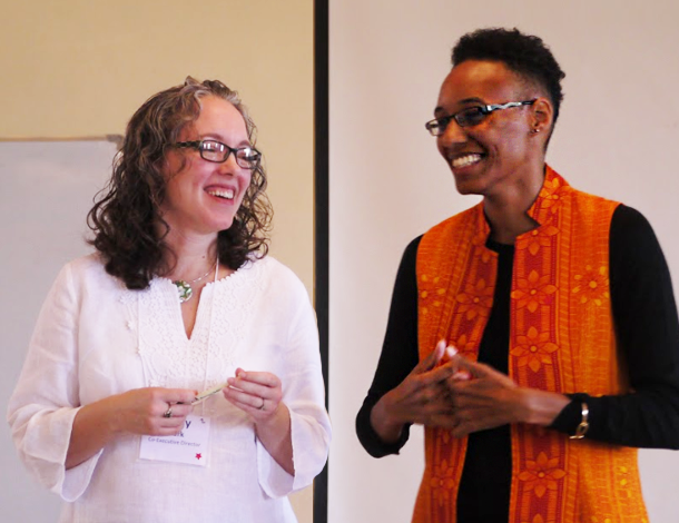 Shared Leadership - Cindy&Hakima in Nairobi (610x470)