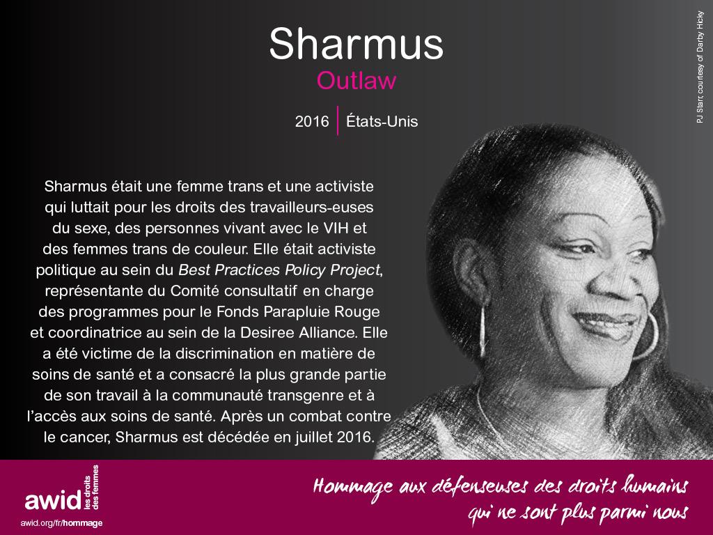 Sharmus Outlaw (FR)