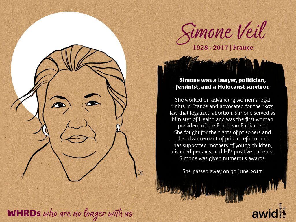 Simone Veil (EN)