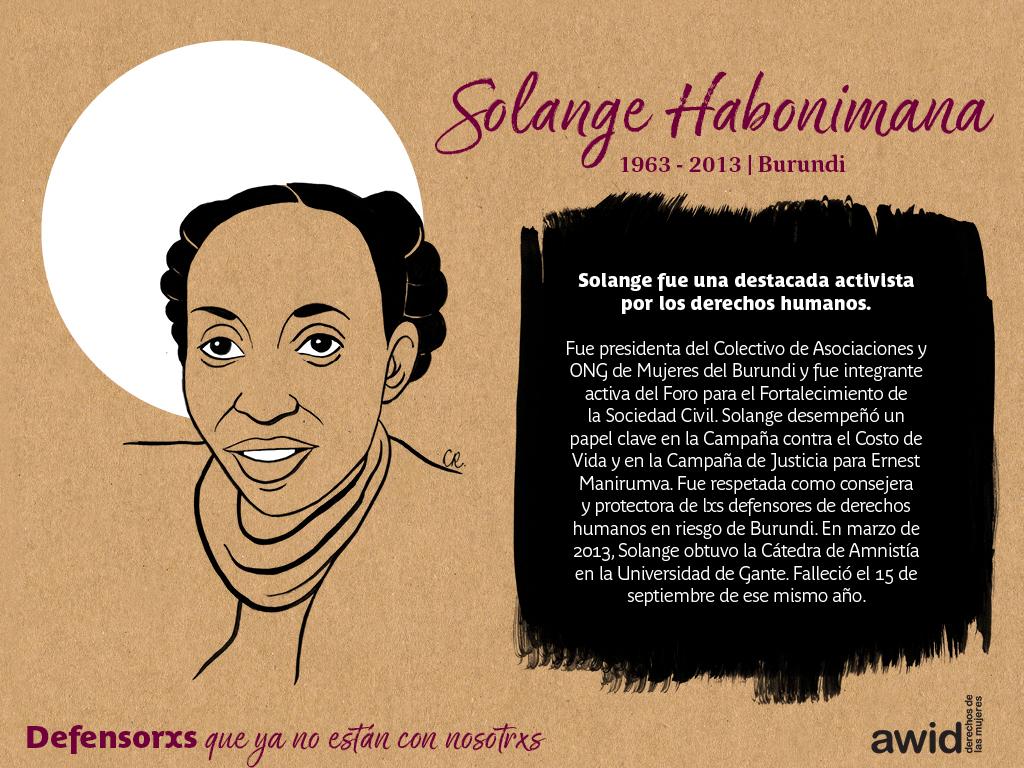 Solange Habonimana (SP)