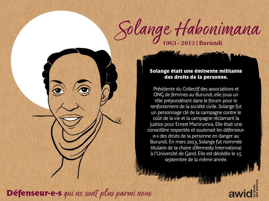 Solange Habonimana (FR)