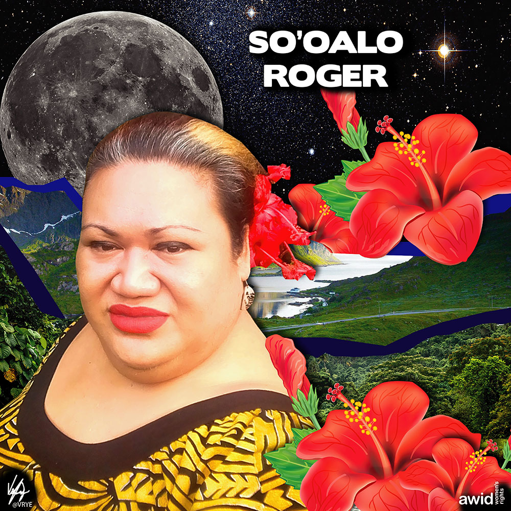 "<strong>So'oalo</strong> was a fervent human rights advocate, especially pertaining to the rights of the LGBTQI community in the Pacific.<br /><a href=""https://www.awid.org/whrd/sooalo-roger"" title=""WHRD: So'oalo Roger"">Read more ></a>"