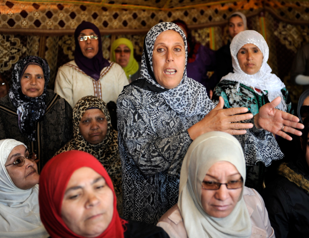 Soulaliyate women in Morocco - 610x470