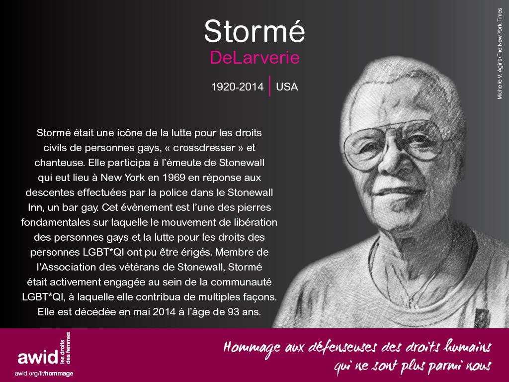 Stormé DeLarverie (FR)