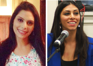 Suha & Yafa Jarrar, Khalida's daughters