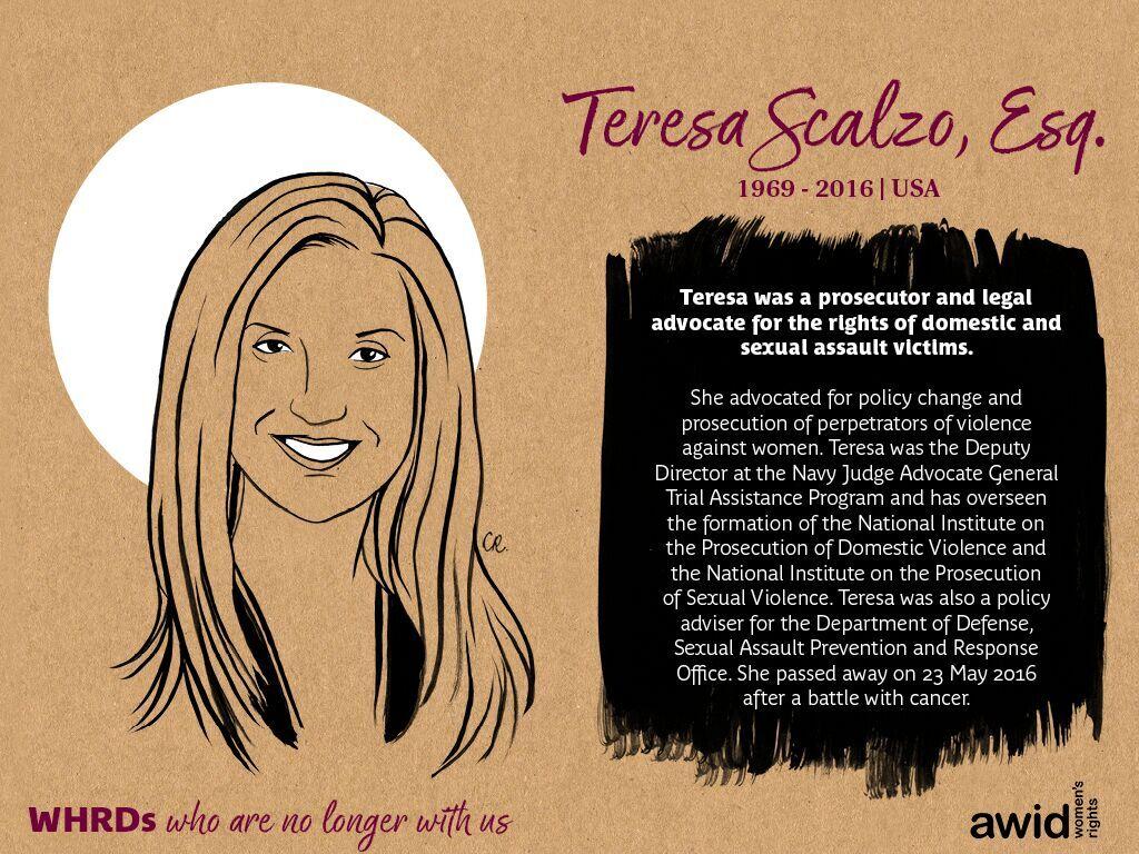 Teresa Scalzo, Esq. (EN)