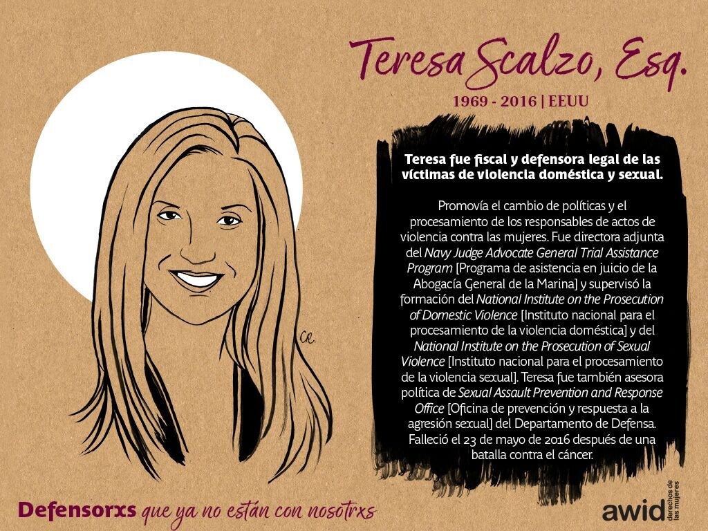 Teresa Scalzo, Esq. (SP)