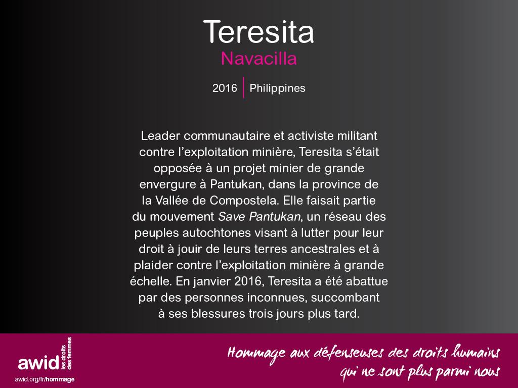 Teresita Navacilla (FR)