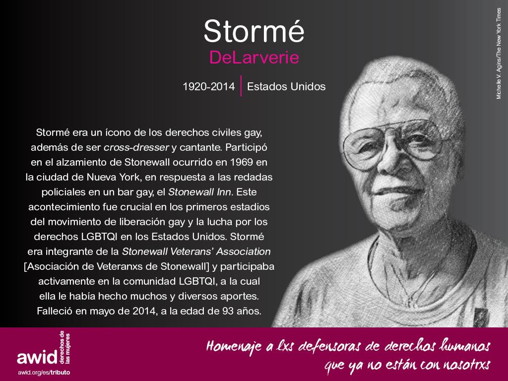 Stormé DeLarverie (SP)