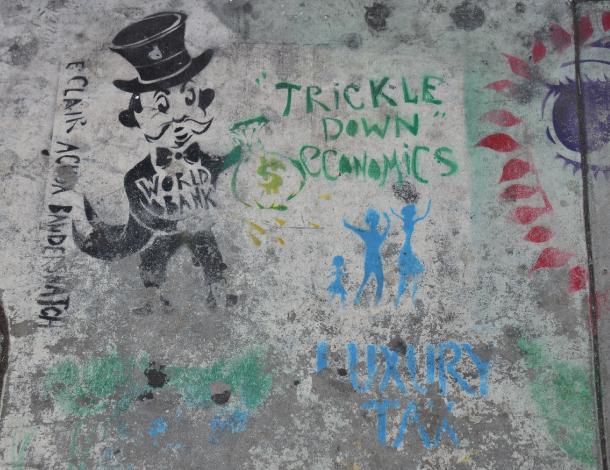 trickle down economy