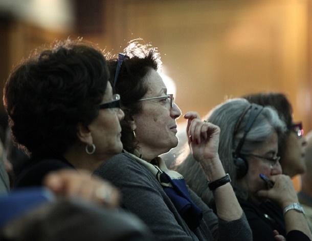 Tunisia women in meeting