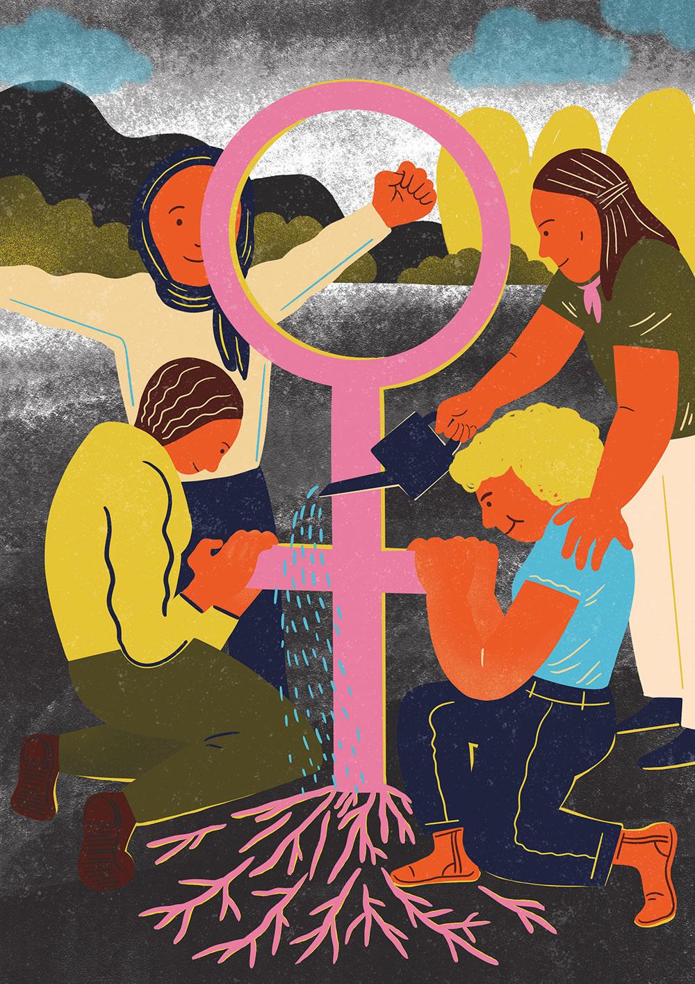 "FR Mag - ""Feminist Movement"" by Karina Tungari"