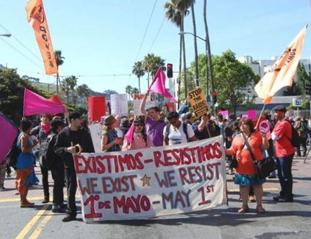 May Day rally in San Francisco (Source: NNIRR) - 610x470