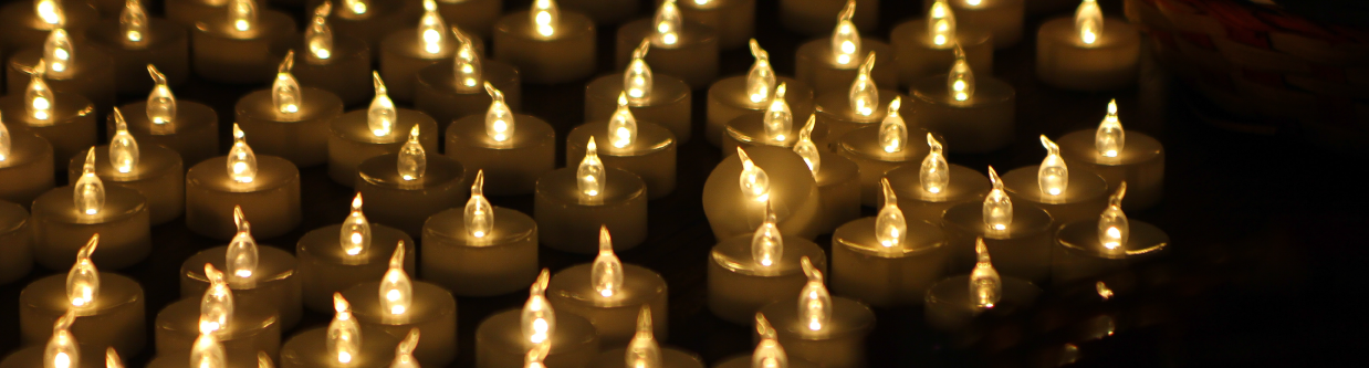 WHRD Tribute - AWID Forum - candles (None on Records) - banner