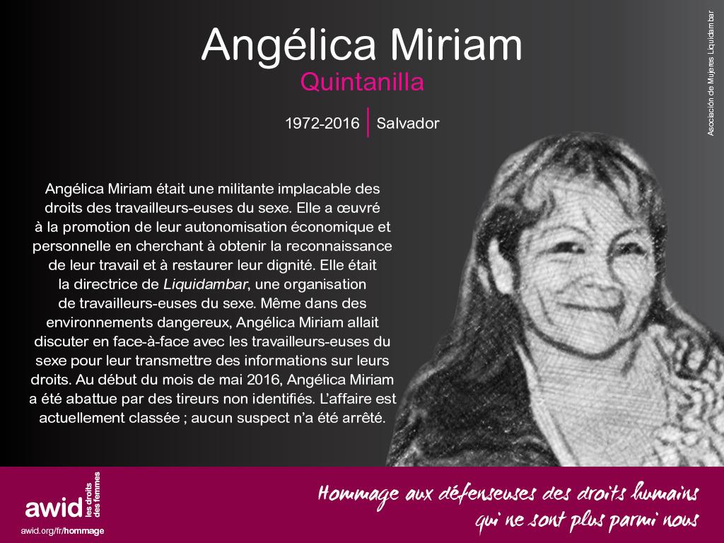 Angelica Miriam Quintanilla (FR)