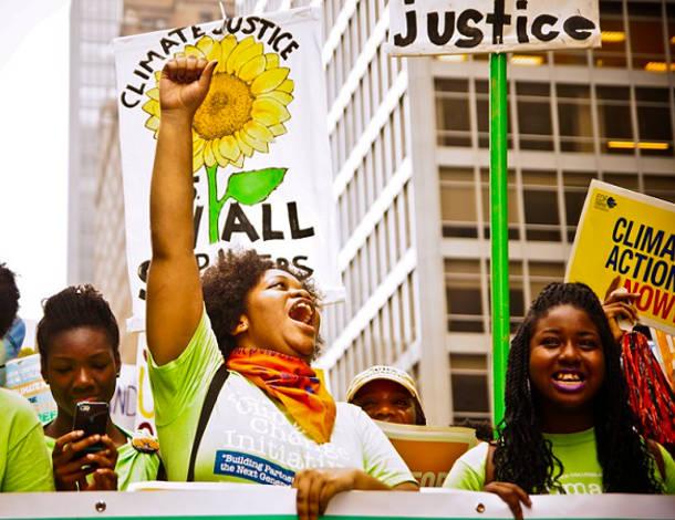 Women climate justice tile