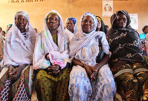 Women in Burkina Faso