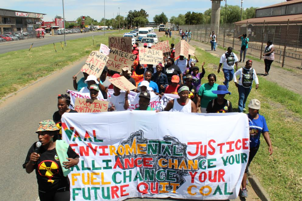 Women Walk Climate Justice 2016