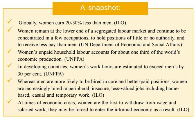 Womens work exposed