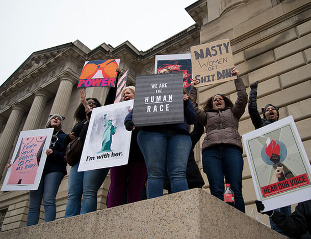 Women's March on Washington, DC - 21 March 2017